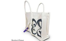 """SIME-NAWA Tote Bag """"Logo"""" 他"""