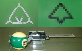 【数量限定!!!】ボール計測計付きビリヤードセット