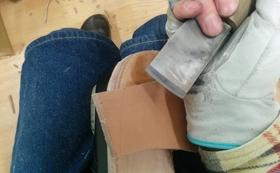 ★アトリエで靴づくり体験!