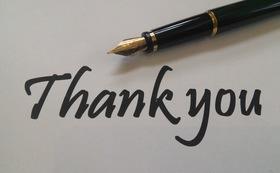 感謝の気持ちをお届けします