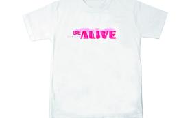 BE ALIVEオリジナルTシャツ