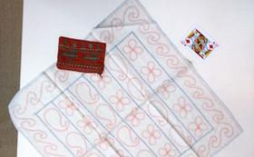 【刺し子製品第1弾!】丸型/四角型小銭入れと布巾