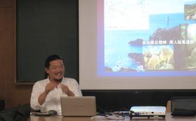 メンバーが集結する講座でプロジェクトを理解する。与那国名産つき