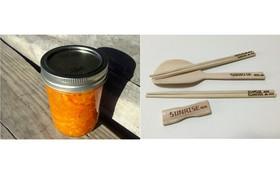 手作り竹食器セット