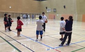 バスケットボールクリニック開催権
