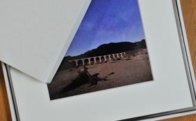 ZINE+クリアファイル+B4サイズ 表紙写真オリジナルプリント額装