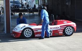 レーシングマシン体験走行と、マシンへのお名前掲示(特大)