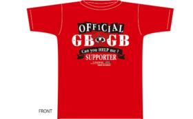 GBGBオリジナルTシャツとリストバンド付き