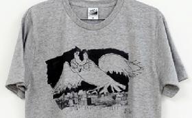 【ReadyFor限定!】J.K イラスト 手摺りオリジナルT-shirts