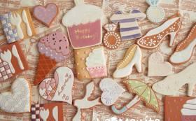 名前入りクッキーをプレゼント!