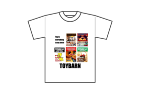 READYFOR限定デザインTOYBARNオリジナルTシャツ!