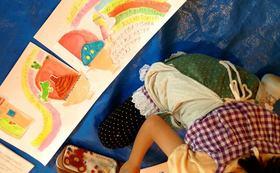 NGK・秋、都内開催キッズ・ワークショップ2日間の参加権《小学生対象・絵本制作体験》コース