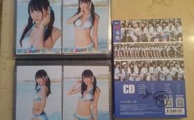 SNH48中古CDアルバム『一心向前(応援盤)』張語格(ヅァン・ユーグァー)サイン入り 1枚 水着生写真4枚コンプリート