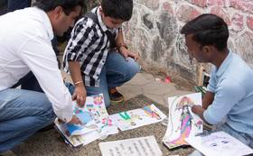 【プロジェクトを応援!】アナンダの絵本+ネパールのストールセット