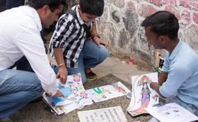【プロジェクトを応援!】アナンダの絵本+ネパールのストール&コーヒー&紅茶セット