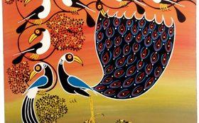 【数量限定4個!】タンザニアの伝統アートティンガティンガ