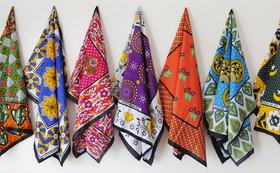 【数量限定5個!】タンザニアの布カンガ