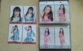 SNH48真夏のSounds good !水着写真『黄婷婷(ファン・ティンティン)水着生写真4枚コンプリートと、2015年新年生写真4枚コンプリートセット