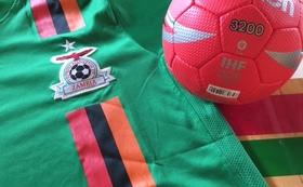 ザンビアチームのユニフォームとサイン入り0号ボールをお届け!