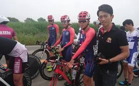 作新学院大学自転車部の特別サポーターになれます!