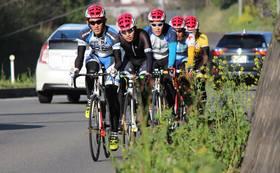 日頃の自転車部のトレーニング環境で強化合宿の練習に参加できる権利