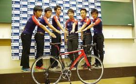 さらに熱い作新学院大学自転車部の特別サポーターになれます!