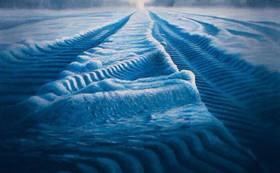 水彩連盟展、水彩連盟賞受賞者、石垣渉の新作。F80号原画