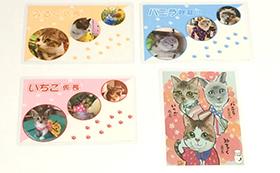 ◆牛乳猫(石川県能美市猫雑貨店) 企画限定カードをGet!