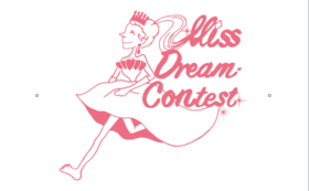 「Miss Dream Contest」オリジナルグッズ