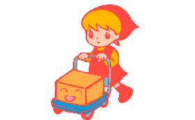 寿町のキャラクター、コトブキンちゃんTシャツとキャップ