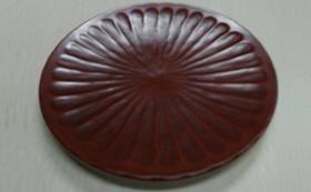 鎌倉彫の菓子皿、図録、絵葉書セット