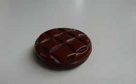 鎌倉彫・輪つなぎ香合(木内史子作品)、図録