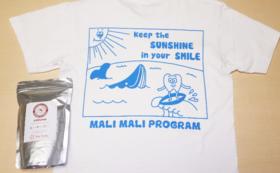 トンガコーヒー大・マリマリ活動Tシャツ・トンガからの感謝状