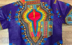 アフリカンプリントシャツ シアバター100% 60g