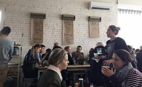 SC Melbourneメンバーと共に現地メルボルンカフェツアー