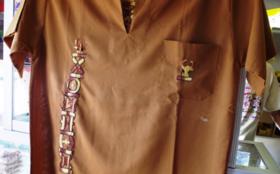 障がいを持つお母さんからの手紙&障がいを持つみんなが作った刺繍入りシャツ