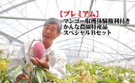 【プレミアム】☆マンゴー収穫体験権利付き☆かんな農園特産品スペシャルBセット