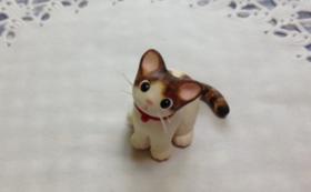 にゃんこのしっぽ♪オリジナル 猫フィギュア
