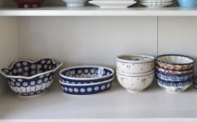ポーランドの陶器セットのコース