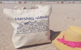 マーシャル諸島からの贈り物 トートバッグ
