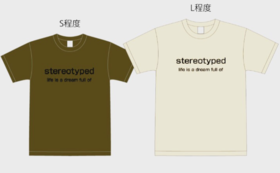 stereotypedオリジナルTシャツをお届けします!