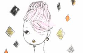 謄写版作品「イラストレーター|小田嶋早世作品」