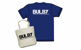 bulbyオリジナルTシャツ・エコバッグ・bulbyサポーターズ名刺をお届け