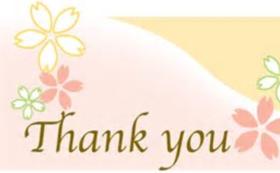 感謝の気持ちを込めてサンクスメールします。