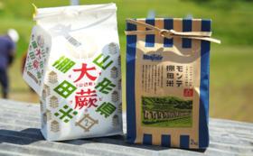 ご支援いただいた苗から生まれたお米(4kg)+手ぬぐいセット