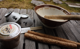 <おすすめ>Readyfor限定  丁子屋限定お茶碗すり鉢コース