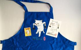 【非売品オリジナルグッズ!】ステッカー、ポストカード、エプロン
