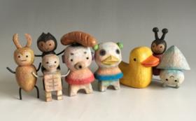 【手のひらサイズ】田島享央己作 彫刻作品