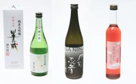 伊賀の酒3本セット+お礼状