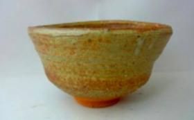 【ラスト10日間限定!】今までの茅を灰にして作ったシリアルナンバー入りの茅釉薬のとろろ汁茶碗